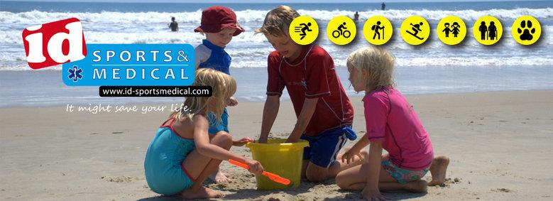 ID Sports & Medical info als je kind zoek raakt.