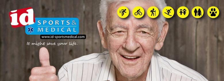 ID Sports & Medical informatie medicijnallergie.
