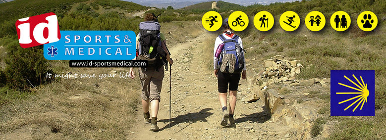 ID Sports & Medical als je een lange wandeltocht maakt.